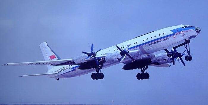 Ту 114 Japan Airlines