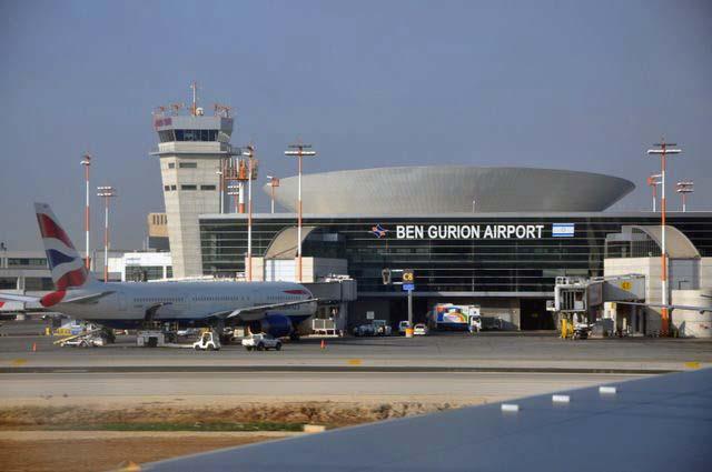 Фасад аэропорта Бен-Гурион