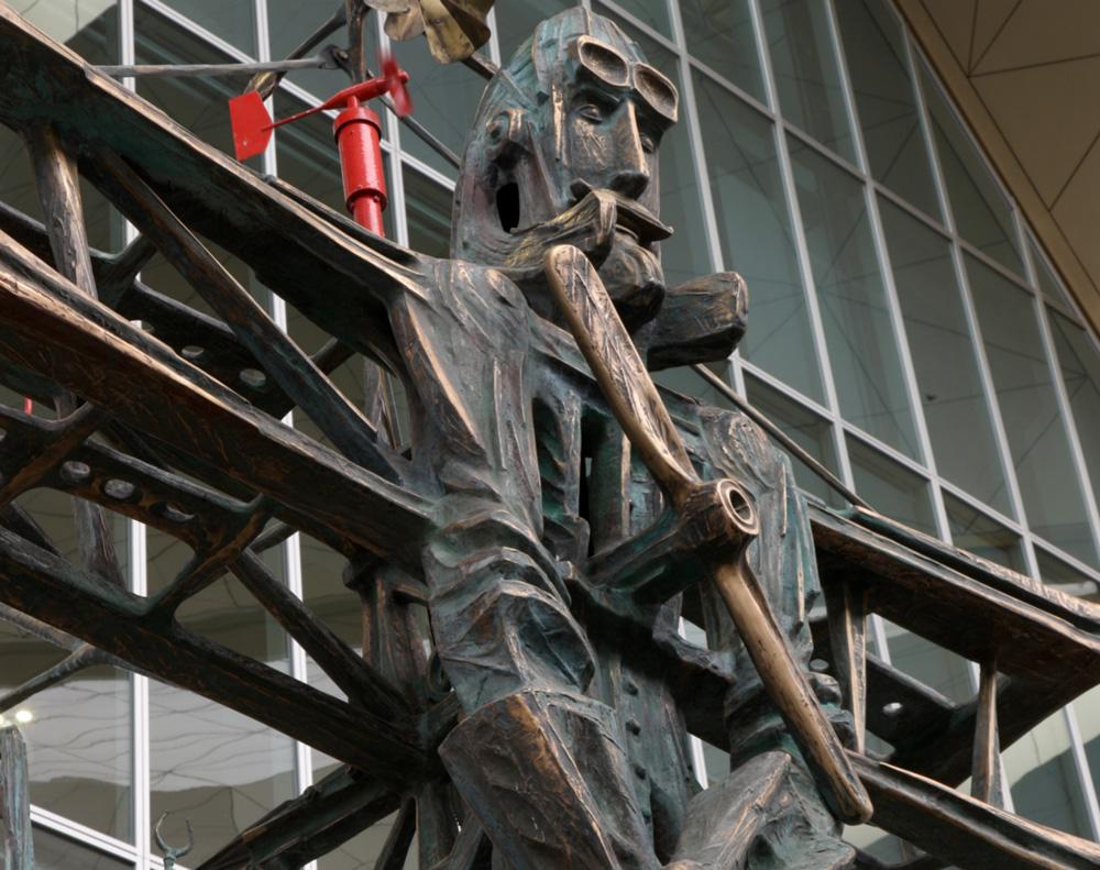 Скульптора «Авиатор»