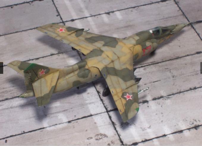 Альтернативный штурмовик Як-35Д. СССР