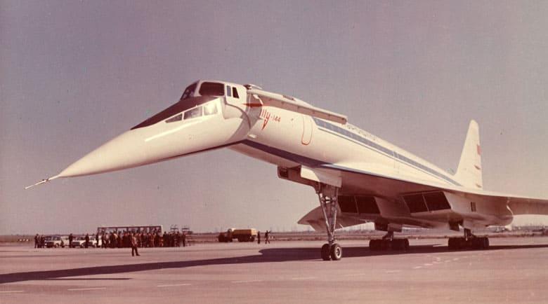 советский Ту-144