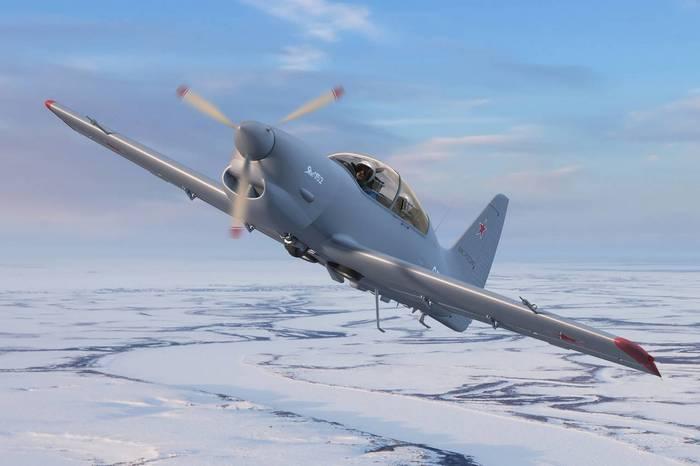 ЯК-152 в небе