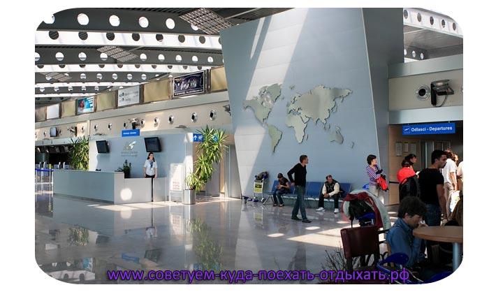 Черногория: аэропорты прилета из Москвы. На карте, фото аэропортов
