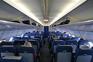 Салон самолета Як-42 Авиалиний Кубани