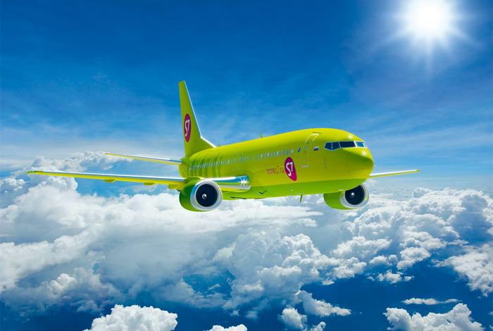 Воздушное судно S7 Airlines