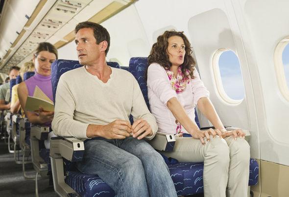 первый раз лечу на самолете