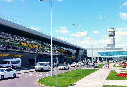 такси у аэропорта Казани