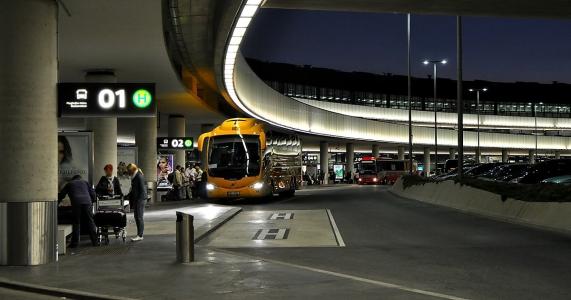 автобусы в аэропорту Вены