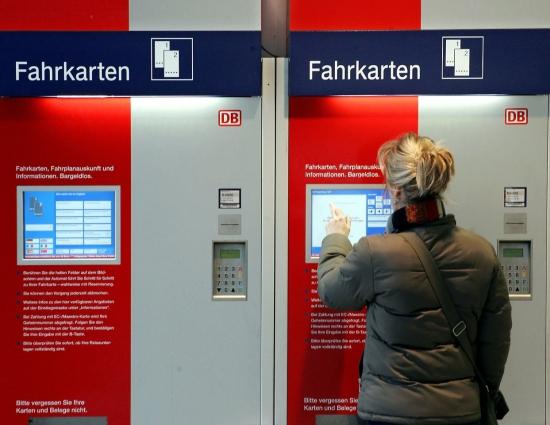 билетоматы в Берлине