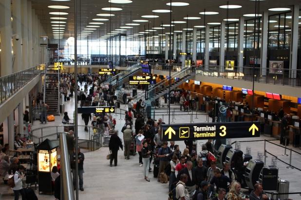 аэропорт Каструп внутри