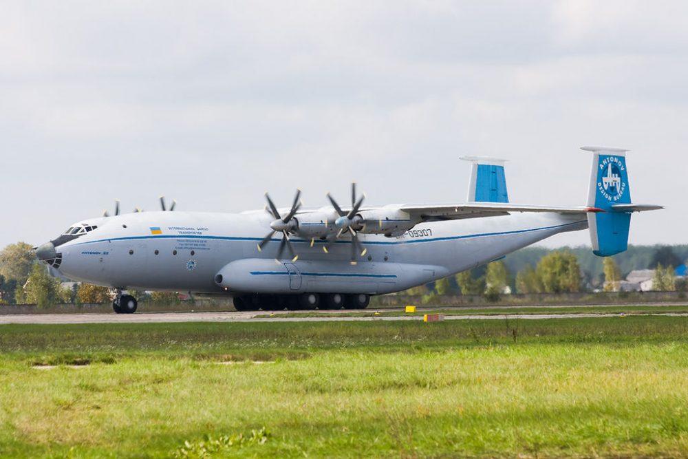 Ан-22 украинской авиакомпании «Авиалинии Антонова»