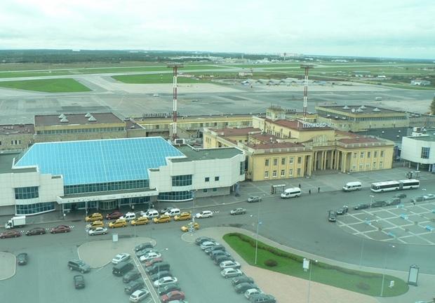 Старый терминал Пулково 2 (на реконструкции)