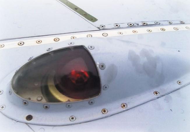Бортовой аэронавигационный огонь самолета