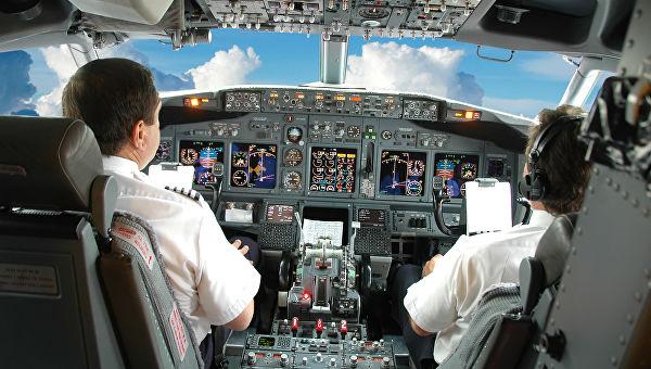 Кабина летчиков