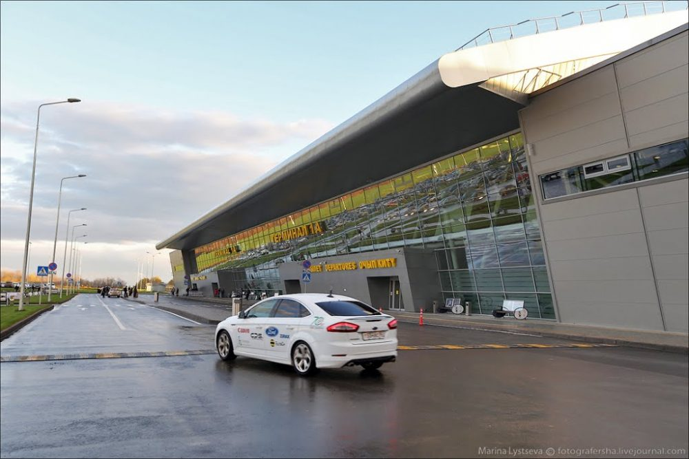 До аэропорта в Казани на авто