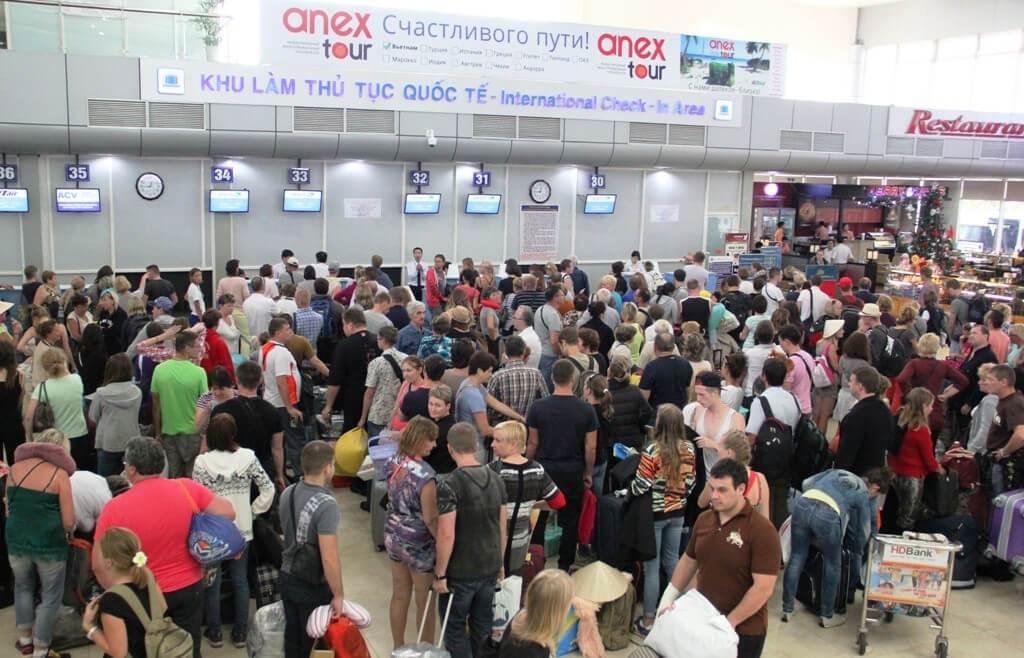 Аэропорт Камрань Регистрация пассажиров