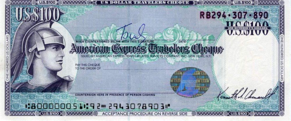 Дорожный чек