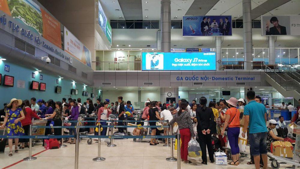 Cam Ranh аэропорт Регистрация пассажиров