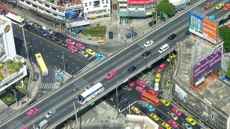 Цены на транспорт в Тайланде