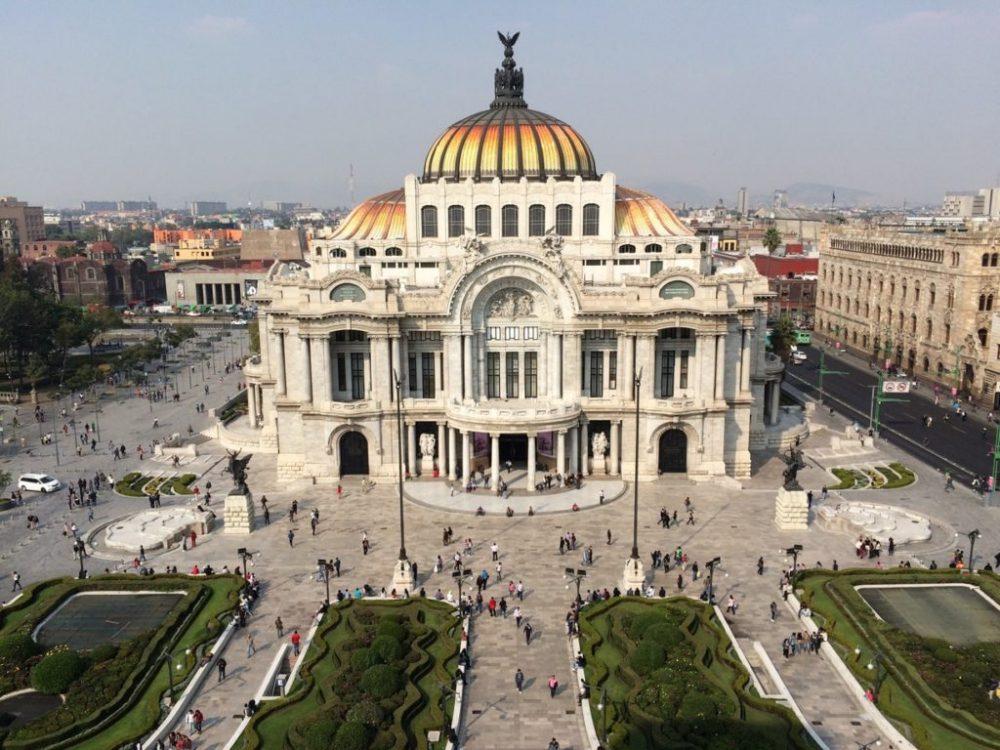 Дворец изящных искусств, Мехико
