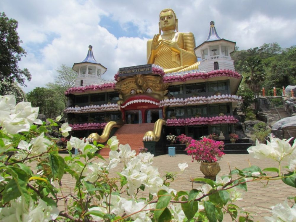 Золотой храм Дамбулла, Шри-Ланка