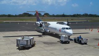Самолет ATR 72 авиакомпании Island Air в аэропорту Лихуэ
