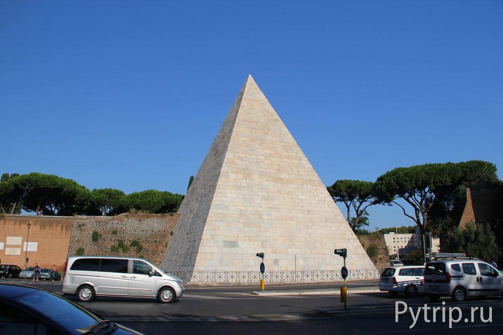 Пирамида Цестия в Риме — дань египетской моде