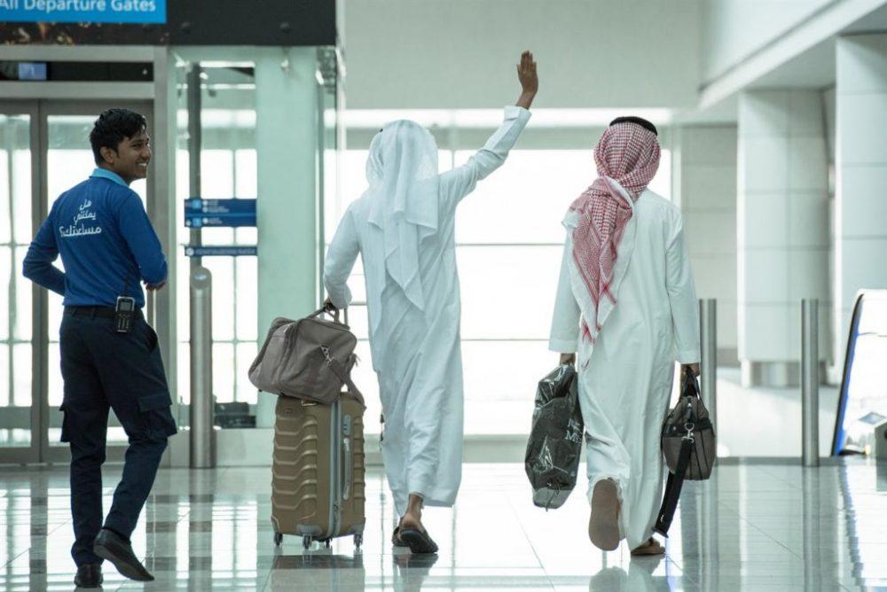 Камера хранения в аэропорту Дубая