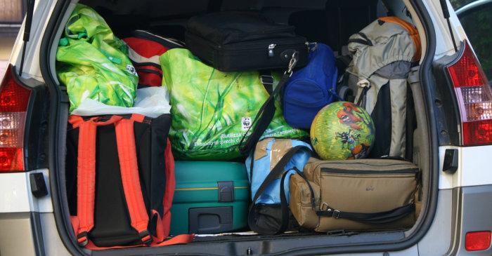 Багаж в автомобиле