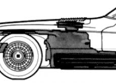 Mercer-Cobra (1964) - Разные автомобили - чертежи, габариты, рисунки автомобиля