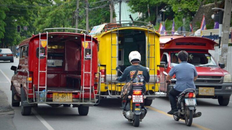 Немного о местном наземном транспорте