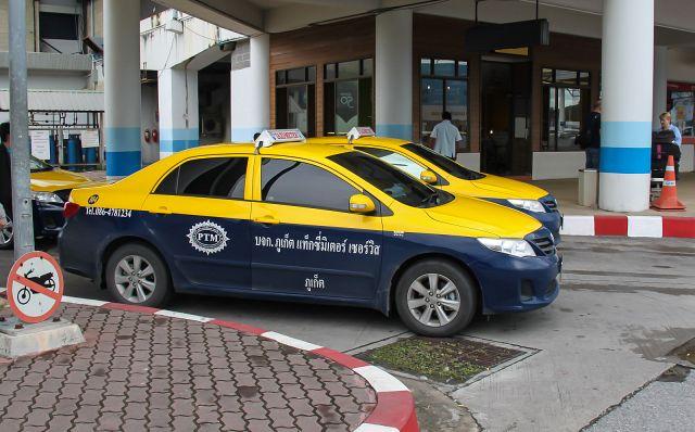Такси в аэропорту