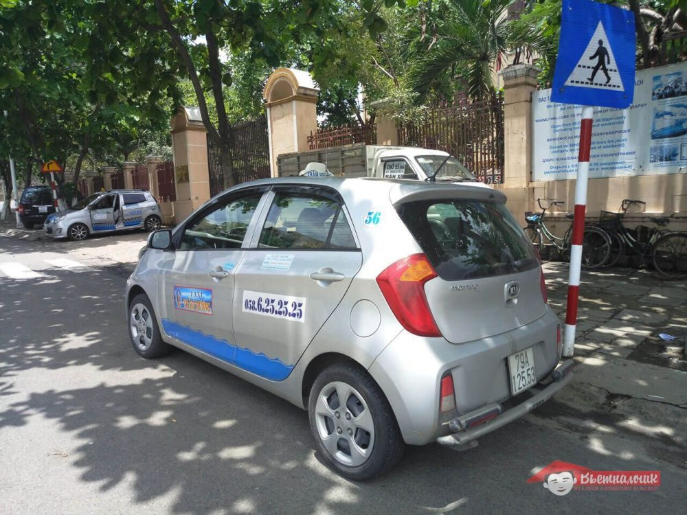 Такси города Нячанг