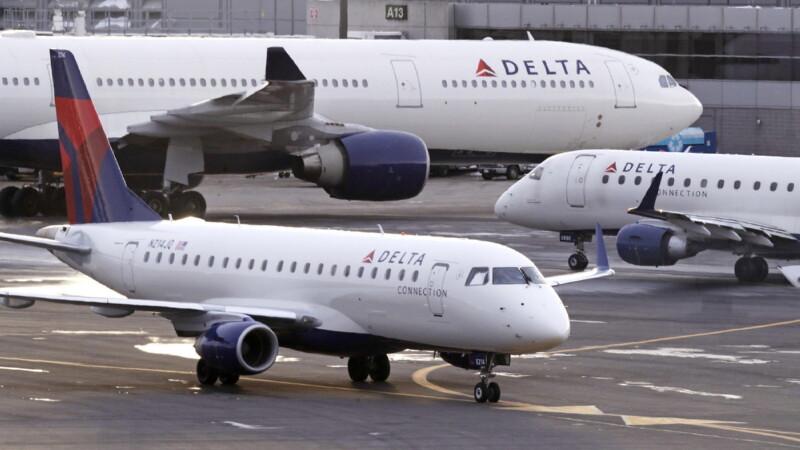 Воздушный парк Delta Airlines