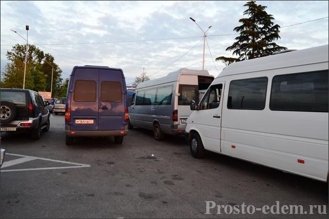 Маршрутки в Абхазии