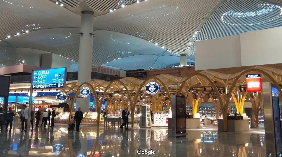 Новый аэропорт Стамбул внутри