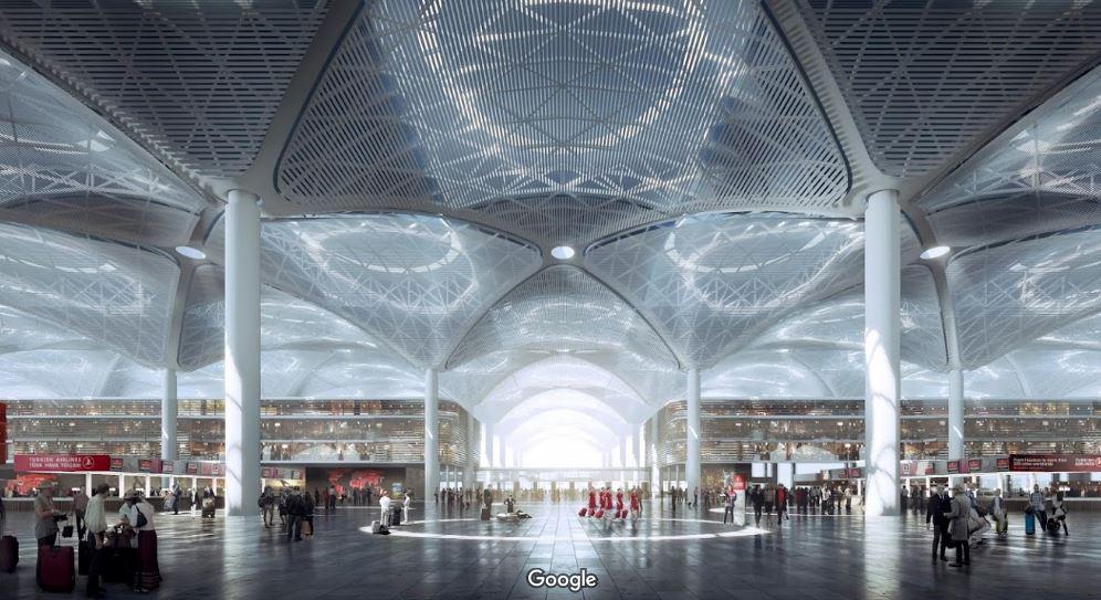 Аэропорт Стамбула внутри