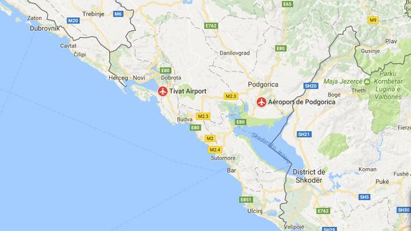 аэропорты прилета из Москвы в Черногорию