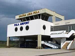Хорватский аэропорт Пула