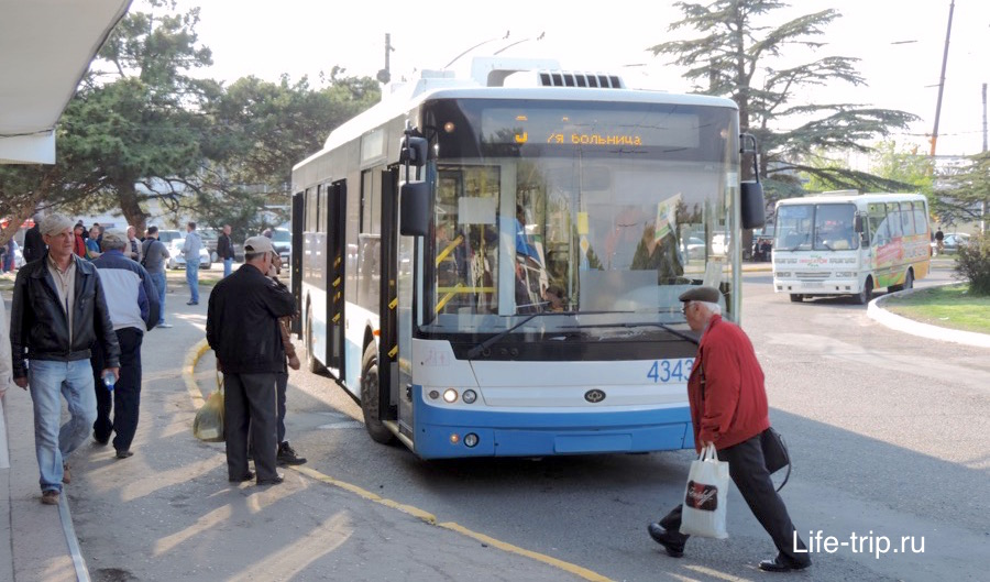 Автобусы из аэропорта Симферополя