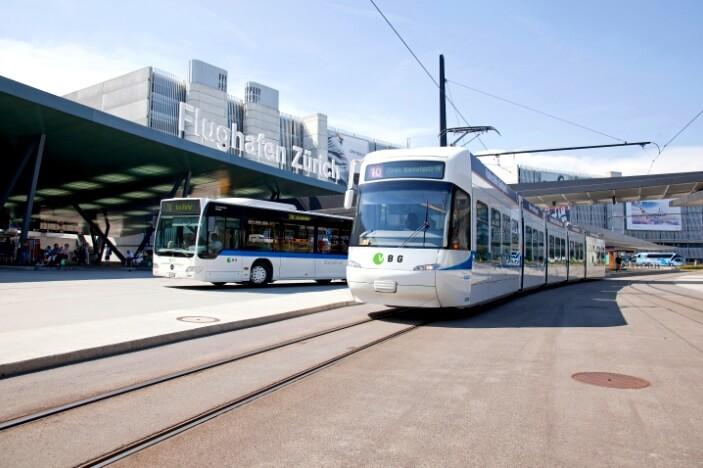 Как доехать из аэропорта Цюриха до центра города