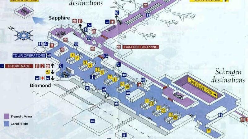 как добраться из аэропорта Брюсселя до Брюсселя
