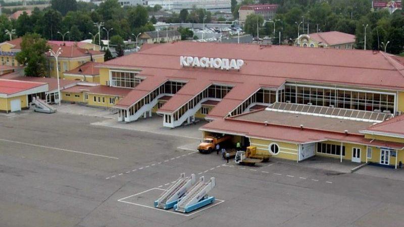 подробная карта аэропорта Краснодар