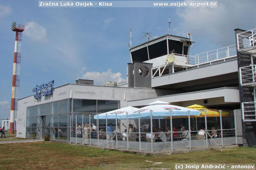 Croatia Osijek airport