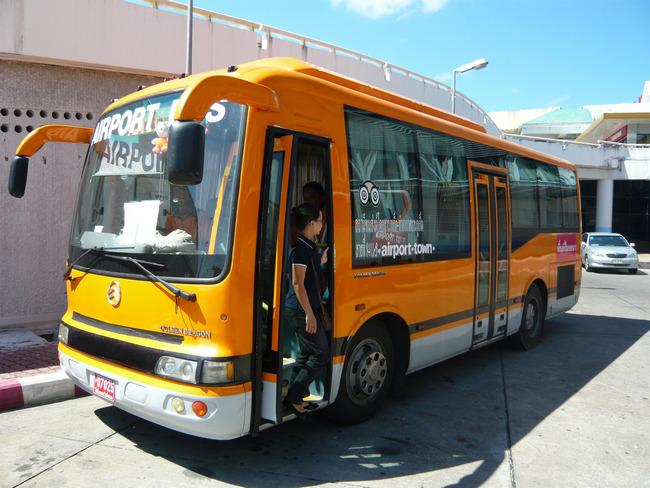 Автобус в аэропорт Пхукета