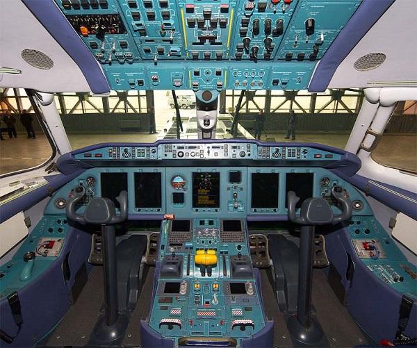 Ан-158 кабина