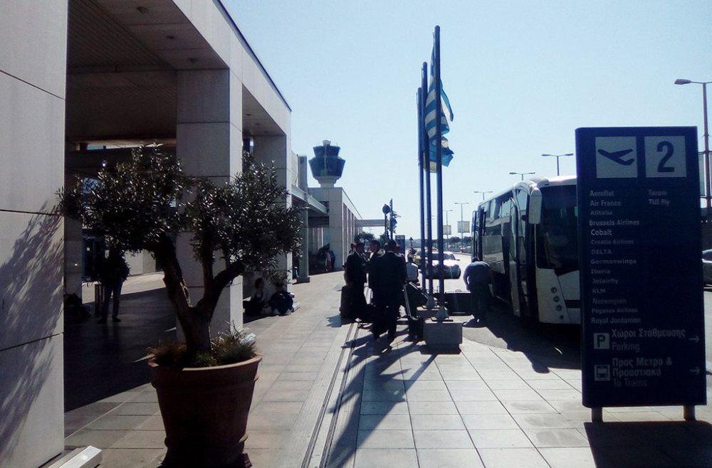 Автобус в аэропорту