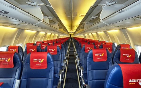 Электронная регистрация на рейсы авиакомпании Азур Эйр