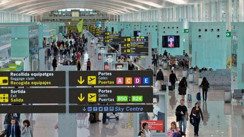 в каких городах аэропорты в Испании