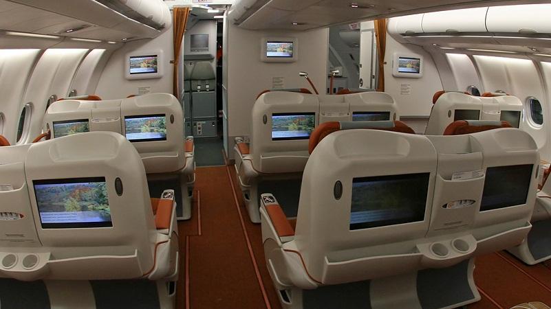 аэробус А330-200 схема салона лучшие места аэрофлот